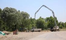 Spor alanları ve çocuk parkının çalışmalarına başlandı