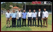 Futbolun taban birlikleri tesisleri inceledi