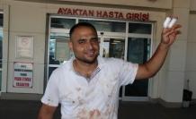 Kurban keserken kendini yaralayanlar hastanelere akın etti