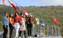 Bartın Üniversitesi öğrencileri 'TCG Mızrak Hücum Botu'nu gezdi