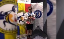 Bartın Üniversitesi öğrencisi Ayşegül Çakın, Avrupa Şampiyonu oldu