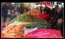 Soğuk hava, meyve sebze fiyatlarını artırdı