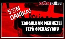 Zonguldak merkezli FETÖ operasyonu