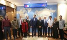Malezya ve Hindistan üniversitelerinden KBÜ'ye ziyaret