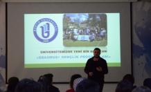 Öğrencilere yurt dışı olanakları anlatıldı