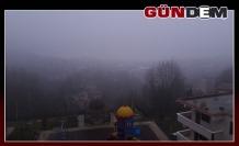 Zonguldak sis ile uyandı