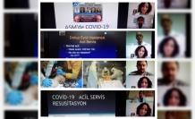 """Bartın Üniversitesi'nde """"Covid-19'lu Hasta Yönetimi Paneli"""" gerçekleştirildi"""