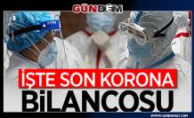 Türkiye'de koronavirüsten can kaybı 4 bin 825 oldu