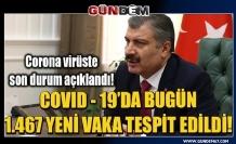 Türkiye koronavirüs tablosu! Sağlık Bakanı Koca son durumu açıkladı
