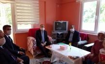 Vali Mustafa Tutulmaz'dan  Şehit Ailesi Ziyareti