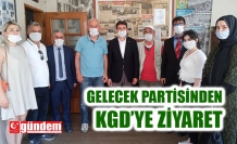 GELECEK PARTİSİ'NDEN KGD'YE ZİYARET