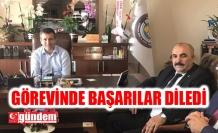 TÜRK EĞİTİM SEN'DEN İL ÖZEL İDAREYE ZİYARET