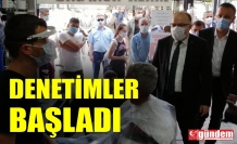 İKİNCİ BÜYÜK COVİD-19 DENETİMLERİ BU SABAH BAŞLADI