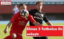 Zonguldakspor 3 futbolcu ile anlaştı