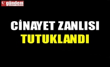CİNAYET ZANLISI TUTUKLANDI