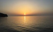 Akçakoca'da gün batımı büyük ilgi görüyor