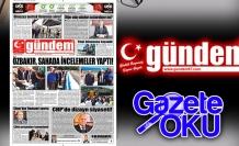 15 Mayıs 2018 Gündem Gazetesi