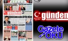 26 Mayıs 2018 Gündem Gazetesi