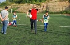 Alaplı belediyespor'da ilk kadın futbolcu adayı