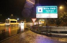 Bolu Dağı'nda tatilcilere yağış sürprizi!..