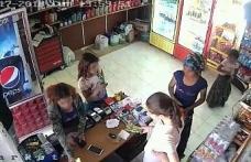 Küçük hırsızlar kameraya yakalandı