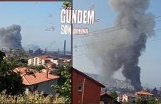 Teknik aksaklık yangına neden oldu!