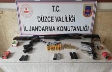 Jandarmadan ruhsatsız silah baskını