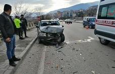 Karabük'te trafik kazası: 1 ağır yaralı