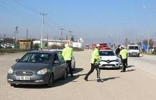 Polis ekipleri D-100 uygulamalarını sıklaştırdı