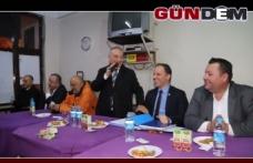 Şanal, Çınartepe halkıyla buluştu