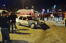 Feci kaza: 4 kişi yaralandı