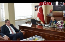 TEKİN, BAŞKANLIK MAKAMINI AYŞENAZ'A DEVRETTİ!..