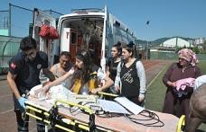 Ambulans Helikopter Bir Aylık Bebek İçin Havalandı