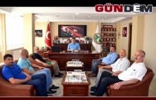 Alaplı MHP'den Başkan Tekin'e ziyaret