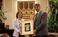Başkan Köse Rektör Polat'a başarılar diledi