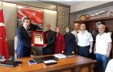 Şehir askerin ailesine şehadet belgesi verildi