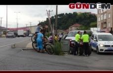 ATV'den düşen yaşlı adam yaralandı!..
