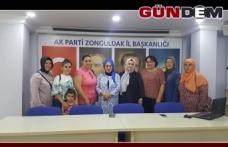 AK kadınlar toplandı