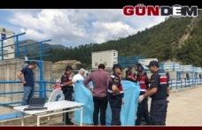 Barajda kadın cesedi bulundu