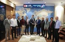 Yemenli Bakan Yardımcısından, Rektör Polat'a ziyaret
