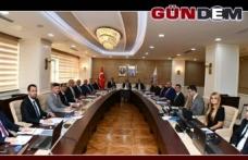 BAKKA Vali Bektaş Başkanlığında toplandı