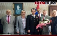 Muhtarlardan, Alay Komutanı Süslü'ye ziyaret
