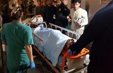 Yaya geçidinde otomobilin çarptığı üniversite ögrencisi ağır yaralandı