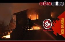 Yangını söndürme çalışmaları sürüyor!..