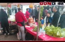 Gaziantep Yöresel Lezzet Fuarı Kilimli'de açıldı.