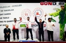 2020 Türkiye Wushu Kung Fu Şampiyonası sona erdi...