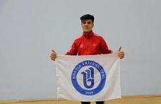 Bartın Üniversitesi öğrencisi, milli sporcu Hasan Engin, Türkiye şampiyonu oldu