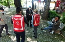 Zonguldak polisinden Şeker ve Kolonya İkramı