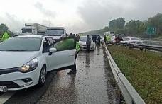 Seyahat yasağının kalktığı 2. günüde otoyolda zincirleme kaza
