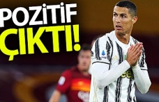 Cristiano Ronaldo, korona virüse yakalandı.